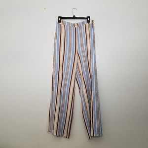 Forever 21 Striped Beach Pants